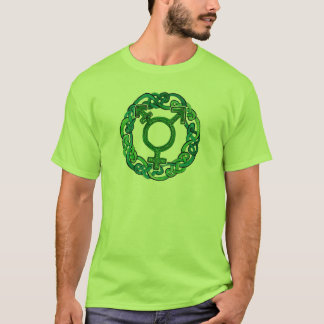 Celtic Knotwork Transgender Symbol T-Shirt
