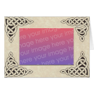 Celtic Lace Frame card