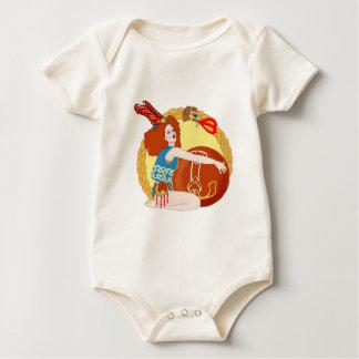 Celtic Leo Baby Bodysuit