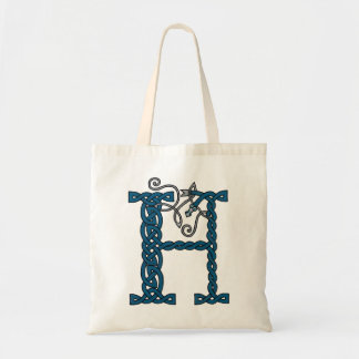 Celtic Letter H bag