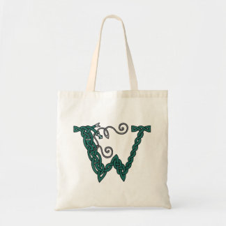 Celtic Letter W bag