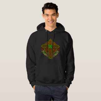 Celtic Lion Cross Men's Hoodie