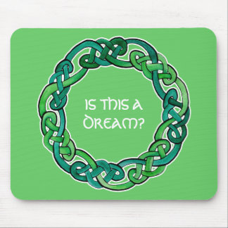 Celtic Lucid Dreaming Reality Check Mouse Pads