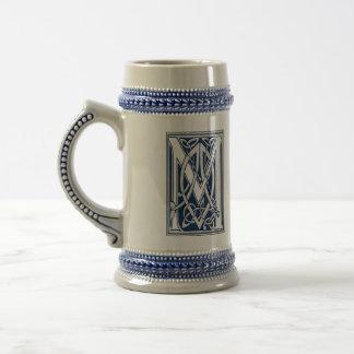 Celtic M Monogram Beer Steins