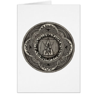 Celtic Mandala Notecard