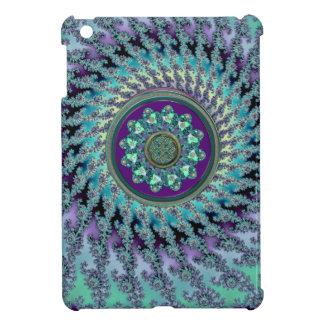 Celtic Mandala on a Fractal Background iPad Mini Covers