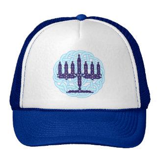 Celtic Menorah Hats
