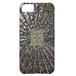 Celtic Metal Chain Mail and Shield Case for iPhone iPhone 5C Case