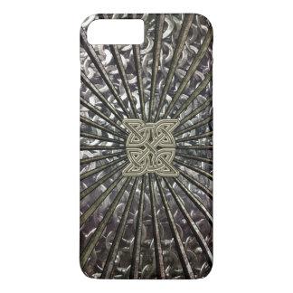 Celtic Metal Chain Mail Shield iPhone 7 Plus Case
