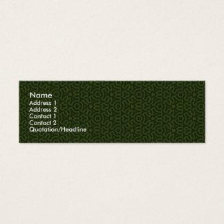 Celtic | mini business card