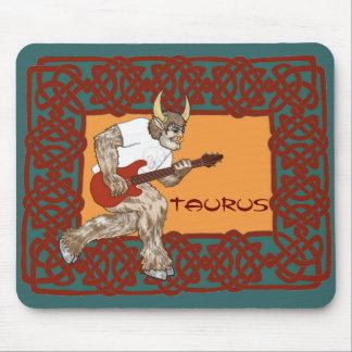 Celtic Minotaur Taurus Mouse Pad