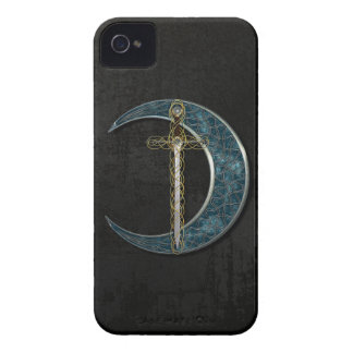 Celtic Moon And Sword iPhone 4 Covers