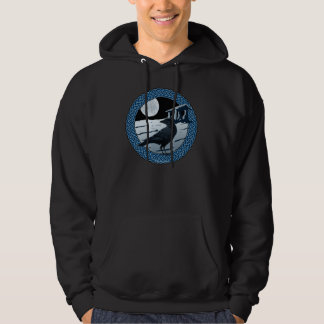 Celtic Moon, Raven & Dolman Hoodies & Sweatshirts