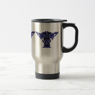 Celtic Mug, Hound Design Stainless Steel Travel Mug