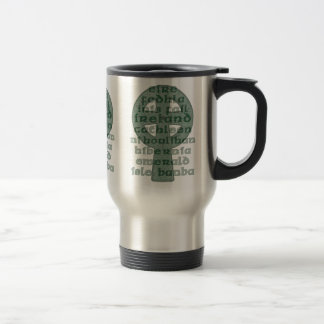 Celtic Mugs, Names of Ireland Celtic Cross Stainless Steel Travel Mug