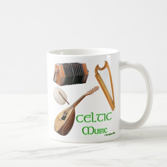 CELTIC Music, CELTIC Music Coffee Mug