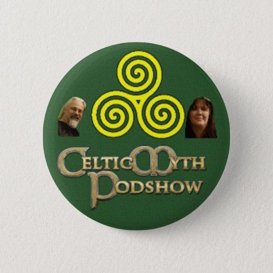 Celtic Myth Podshow Button/Badge 6 Cm Round Badge