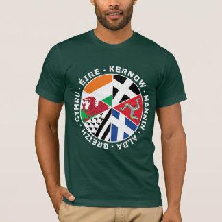Celtic Nations Flags Men's T Shirt, Wales, Celt T-Shirt
