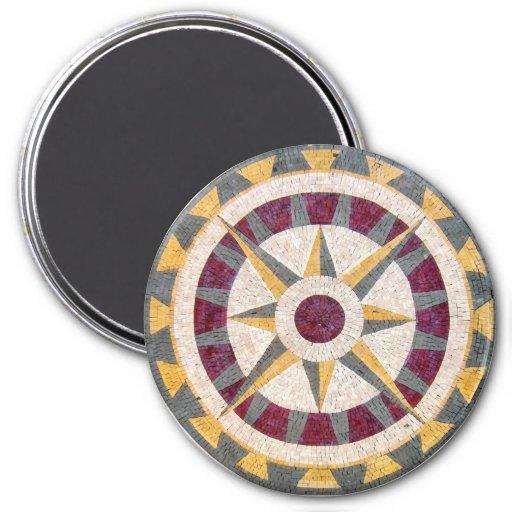 Celtic Nautical Compass Fridge Magnet