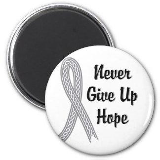 Celtic Never Give Up Hope Juvenile Diabetes 6 Cm Round Magnet