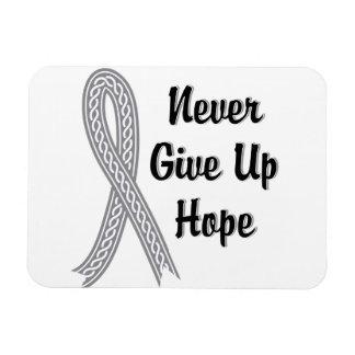 Celtic Never Give Up Hope Juvenile Diabetes Rectangular Photo Magnet