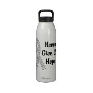 Celtic Never Give Up Hope Juvenile Diabetes Reusable Water Bottle
