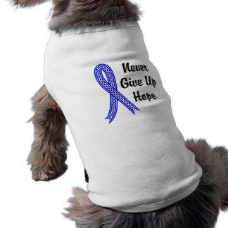 Celtic Never Give Up Hope Rectal Cancer Pet T Shirt