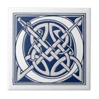 Celtic O Monogram Tile