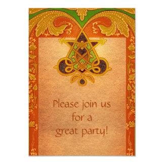 Celtic Parchment Style Invitation