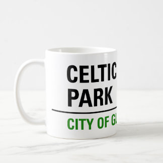 Celtic Park Street Sign Coffee Mug