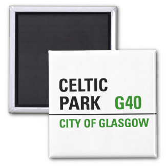 Celtic Park Street Sign Magnet