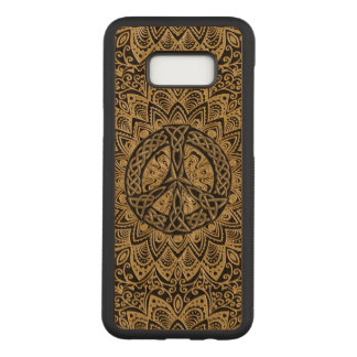 Celtic Peace Sign Mandala Carved Samsung Galaxy S8+ Case