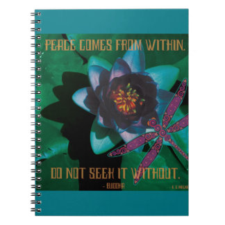 Celtic Peace Spiral Note Books