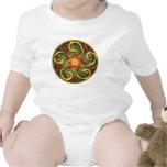 Celtic Pentacle Spiral Infant T Shirt
