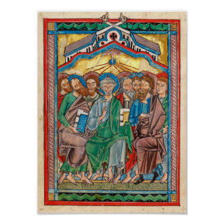 Celtic Pentecost Icon Poster
