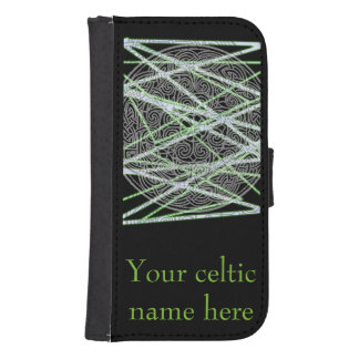 Celtic phone cover with name