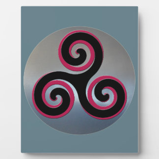 Celtic Powerful Good Luck Symbols Photo Plaque