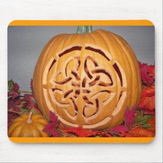 Celtic pumpkin carving mouse mat