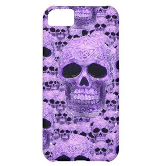 Celtic purple skull collage iPhone 5C case