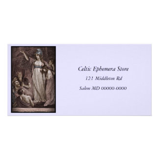 Celtic Queen Boudicca Personalized Photo Card