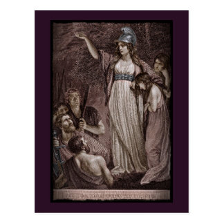 Celtic Queen Boudicicca Postcard