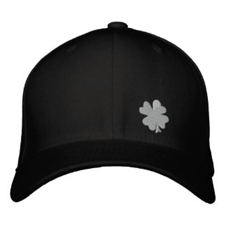 "Celtic Quest ""Clover"" FlexFit Hat Embroidered Baseball Caps"