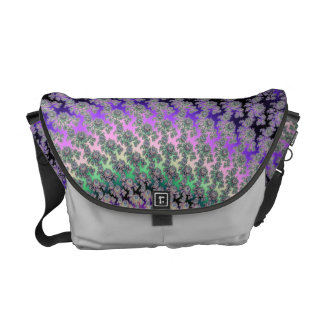Celtic Rainbow Fractal Messenger Courier Bag