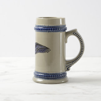 Celtic Raven Beer Stein