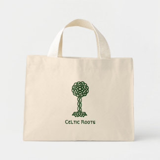 Celtic Roots Mini Tote Bag
