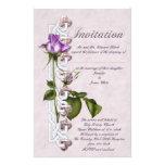 Celtic Rose Wedding Custom Stationery