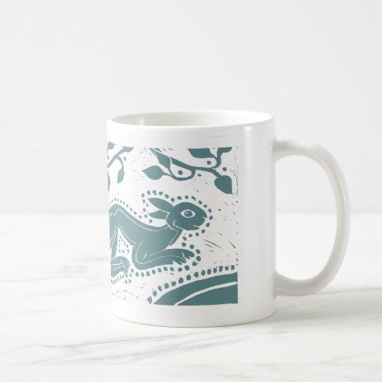 Celtic Sea-Green Hare Mug