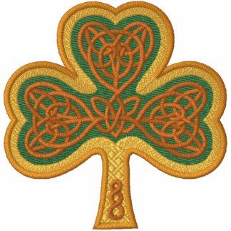 Celtic Shamrock Embroidered Jackets