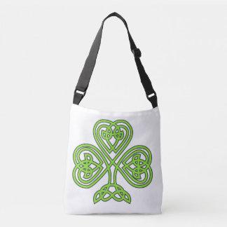 Celtic Shamrock St. Patrick's Day Irish Eire Paddy Crossbody Bag