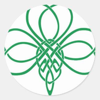 Celtic Shamrock Stickers